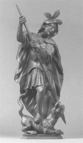 heiliger georg by austrian school tyrolean 17