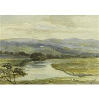a scottish landscape by william leighton leitch