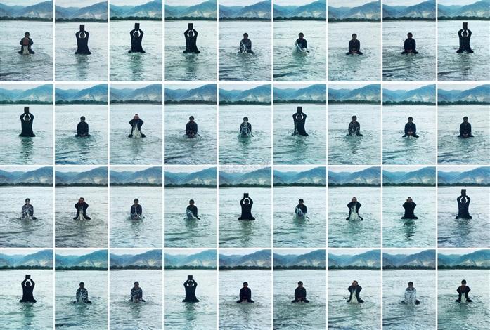 印水 stamping the water 36 works by song dong
