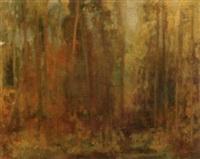 forest interior by edward adam kramer