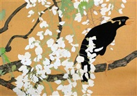 birds and flowers (+ 5 others; 6 works) by rakuzan tsuchiya
