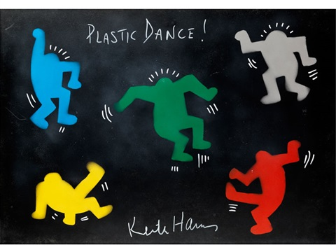plastic dance by keith haring