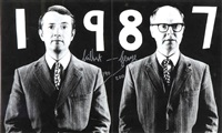 artwork 1987 by gilbert and george
