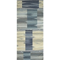 caspian blue woven area rug by david shaw nicholls