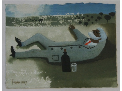 blissful hours by mary fedden