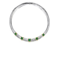 a chocker necklace by adler