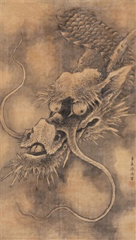 墨龙图 (dragon) by xu ying