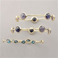 bracelets (3 works) by ippolita (co.)
