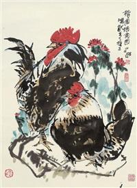 秋园德禽图 by xu changming