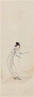 观音像 (guanyin bodhisattva) by shao fang