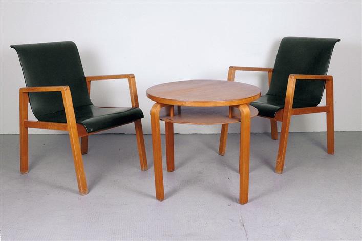 zwei stühle 403 by alvar aalto
