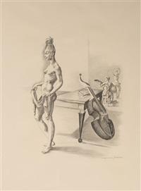 nu au violoncelle by mariano andreu