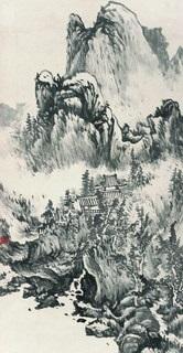 landscape by xu zhenghua