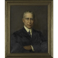 portrait, george f. pfahler, m.d. by jefferson david chalfant