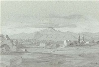 view of sparta (+ 2 others; 3 works by léopold guterbock