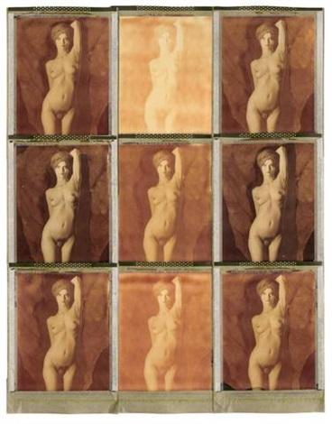 yvette 891 neunmal yvette 9 double exposures on polaroid smllr 2 works by thomas karsten