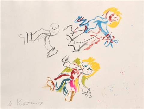 for lisa by willem de kooning