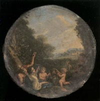 bacchus et ariane by filippo lauri