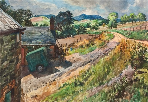 farmhouse road by james mcintosh patrick