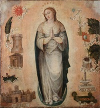 the immaculate virgin by vicente juan (de juanes) masip