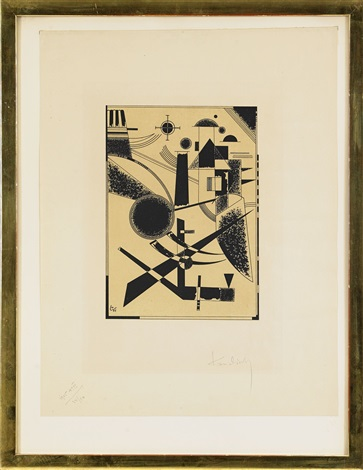 lithographie no iii by wassily kandinsky