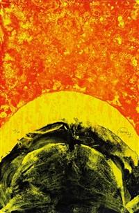 gallen. red quake'. abstrakte komposition by otto piene