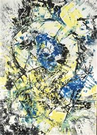 blau und gelb by fred thieler