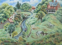 rural town by peggy williams dodds