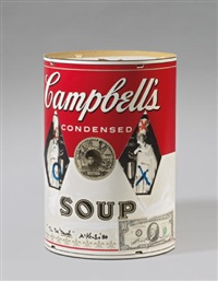 campbell's soup by michael mckenzie and andy warhol