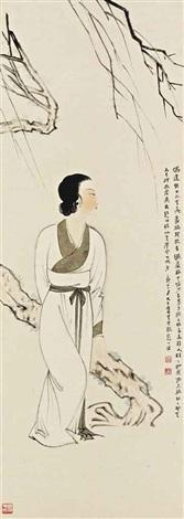 lady by zhang daqian
