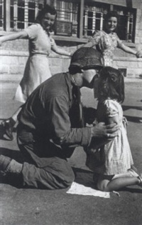 the kiss of liberation by tony vaccaro