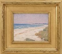 nantucket beach by carl olof eric lindin