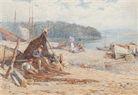 mending the nets by harold joseph swanwick