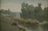 spring landscape by luigi fabron