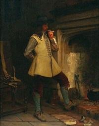le fumeur à la pipe by john seymour lucas