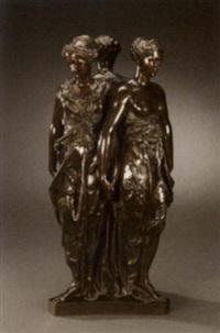 the three graces by germain pilon
