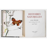 jules renard: histoires naturelles (bk w/29 works and justif., 4to) by hans erni