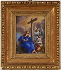 présentation de la croix à saint hélène by antoinette herault