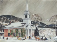 new england snow by raymond j. holden