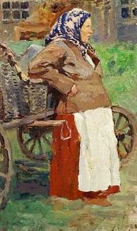 en russisk bondekone fra perm by mikhail ivanovich avilov