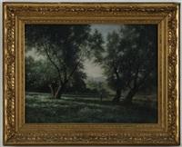 paysage animé by horace-antoine fonville
