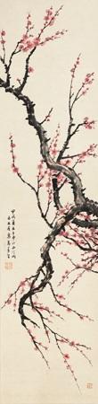梅花 (plum) by ma wanli