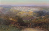 view of jerusalem by samuel lawson booth