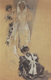 dressing the bride by frank snapp