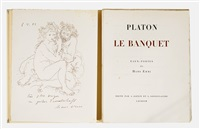 platon: le banquet (bk w/1 work, 4to) by hans erni