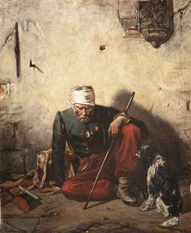un soldat malheureux by alfred stevens