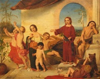 christ as a child by william charles thomas dobson