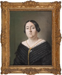 retrato femenino by vicente rodés y aries