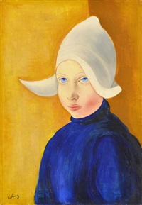 fillette hollandaise by moïse kisling
