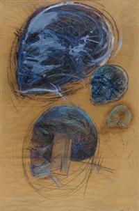 köpfe mit blau by hede buhl